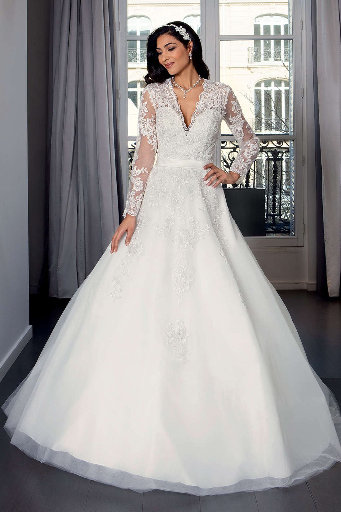 Collection Bella 2019 : Robe de mariée Lysbeth