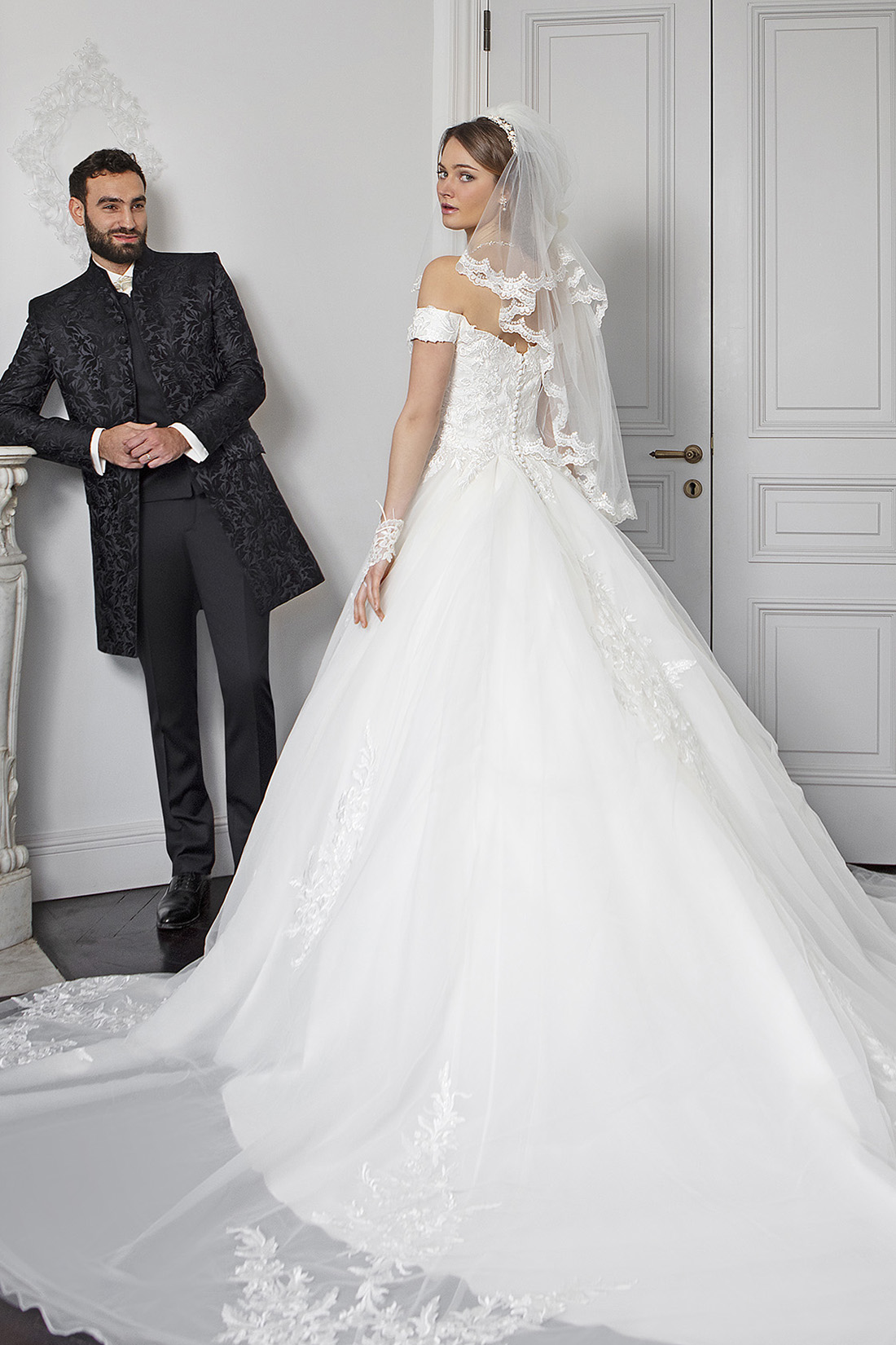 Collection Bella 2020 : Robe de mariée Riya